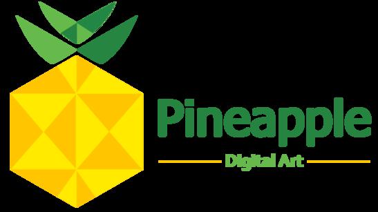 Pineapple Digital Art